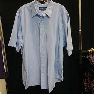 Ralph Lauren Polo Short Sleeve Shirt Size 2XB
